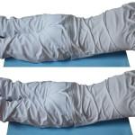 Ćwiczenie wzmacniające mięśnie prostowniki grzbietu - 2 warianty.