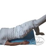 Ćwiczenie wzmacniające mięśnie kulszowo-goleniowe (tylna strona uda) - wersja trudniejsza.
